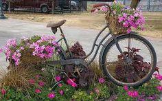 Resultado de imagen para fotos de bicicletas con flores