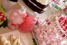 sweet table de fille. gouter anniversaire de fille