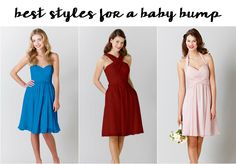 Finding the best bridesmaid dresses for your body shape is just a matter of having a flattering neckline! Our guide will determine your perfect dress style!