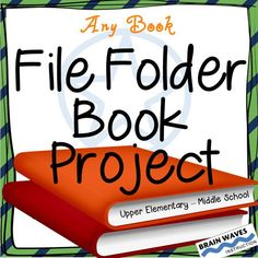 This Common Core State Standards aligned File Folder Reading Project enables students to creatively respond to their reading. Over the course of the project, students will create a unique file folder covered in plot details, character analysis, setting description, a personal reflection, plus a book cover design and a listing of other books by the same author. The project is designed for students to complete on any book.  The end result is a vivid, comprehensive,  creative book project!
