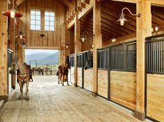 Horse Barn Design Ideas small horse barn plans blueprints Beautiful Barn For Horses Would Love To Have This Behind My Future Ranch