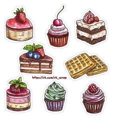 Картинки на кулинарную тему пирожное