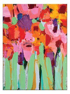 Field of Flowers by Anna Blatman (Canvas)