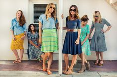 Modest skirts and dresses by LuLaRoe