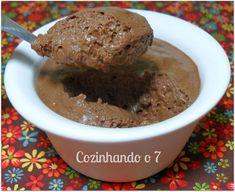 Cozinhando o 7: Mousse de Chocolate com Biomassa de Banana Verde