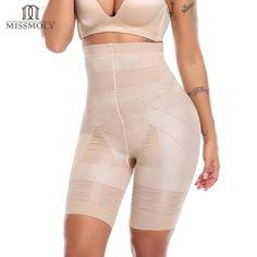 1f7065869b Women Seamless High Waist Shapewear Tummy Control Panties Slimming Waist  Trainer Postpartum Abdomen Body Shaper Underwear