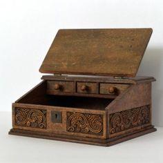 17th century Bible box by Arjen Spinhoven