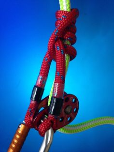 Long Rope Prusik For Arborist Tree Surgery Rigging Climbing. Tree Felling, Rappelling, Wet Shaving, Camping, Mountaineering, Rock Climbing, Rigs, Surgery, Diy And Crafts