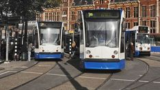 Use Amsterdam's easy and affordable public transport network to get around the city including trams, busses, metros and ferries.
