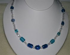 Simple & Beautiful Beaded Wire Necklace