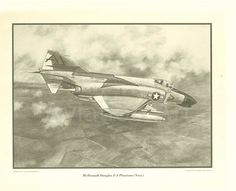 1978 Copyright - All rights reservedAviation ArtPhoto of the drawing by Ken Fox •   VF-74  •   USS FORRESTALVF-74, Fighter Squadron 74, Be-Devilers was an aviation unit of the United States Navy in service from 1944 to 1994./$34.95