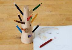 Mon Petit Art - Fa formájú cezuzatartó