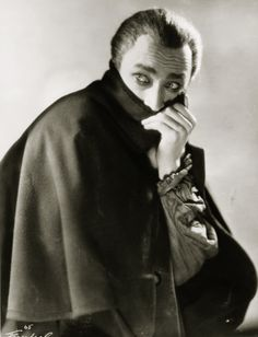 """Conrad Veidt in """"The Man Who Laughs"""" 1928"""