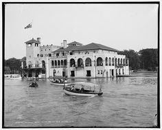 Detroit Boat Club, Belle Isle, Detroit, Mich. Ain't she a beaut?