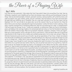 This was right on time...must read prayer for all wives!