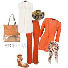 "EtcTuesday's Tips: It's a ""cinch"" to look great with an Etcetera belt! Learn why you really can not live without them in today's blog. http://www.etceteracollectionblog.com/etera Spring 2013 - Its a Cinch to look great! by lcronican on Polyvore"