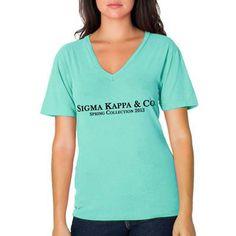 "Sorority Screen Printed Bid Day and Rush Shirts ""Spring Collection"" Design Sorority Recruitment Themes, Sorority Rush, Sorority Outfits, Sorority Shirts, Sorority Sugar, Spring Recruitment, Sorority Crafts, Sigma Kappa, Delta Zeta"