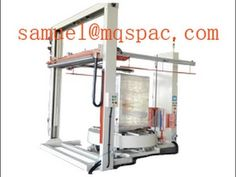 barrel Fully Auto Turntable Pallet wrapper & Top Sheet Dispenser