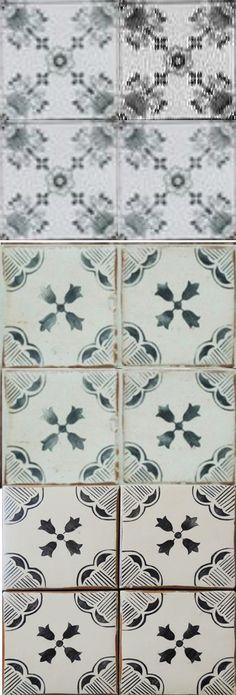 Küchen Tapete Landhaus Fliesen Ornamente Mandala deko Pinterest - fliesen tapete küche