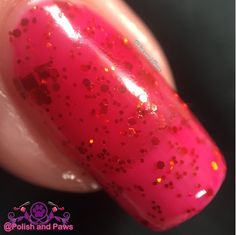 """Polish and Paws: """"Ruby Slippers"""" by Sassy Pants Polish The Wizard of Oz Collection ~ Holiday 2015"""