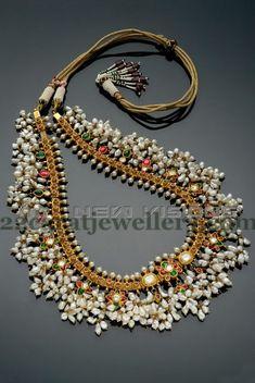 Jewellery Designs: Gutta Pusalu Set by Shankarlal Jewellers