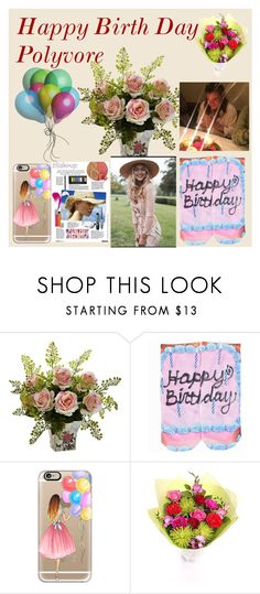 """Happy Birthday Polyvore/"" by jenniferdschupp123 ❤ liked on Polyvore featuring Vichy, Living Royal, Casetify, women's clothing, women, female, woman, misses, juniors and contestentry"