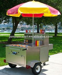 hot dog stand for sale