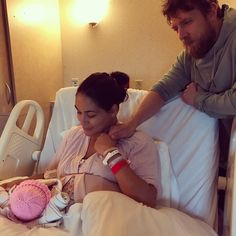 Brie Bella Shares Cute Photo of Newborn Daughter Birdie - Us Weekly