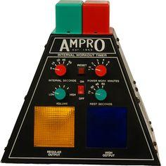 Ampro Interval Gym /& Boxing Workout Timer