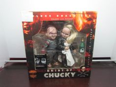 McFarlane Movie Maniacs 2 BRIDE OF CHUCKY Deluxe Boxed Set NIB & Factory Sealed #McFarlaneToys