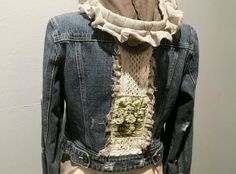 Check out this item in my Etsy shop https://www.etsy.com/listing/243769029/renewrecycled-denim-jacket-w-hand