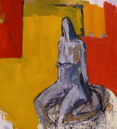 Muñeca sentada en el tren.|Oil on canvas. 162cm x 146cm.|http://olasoluis.com/wp-content/uploads/2015/07/2015_01_g.jpg