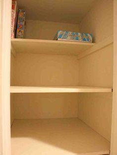 Beau Deep Closet Shelves Hall Closet Organization, Closet Paint, Deep Closet, Closet  Shelving,
