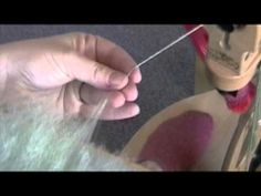 Spinning from Hand Carders - YouTube