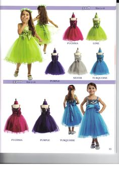 Your little girl will love these fun sparkly dress with full skirts. Great for twirling in #Sparkles