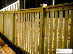 how to build a cedar picket fence - Google Search