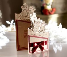 Created with Die'sire #festive Edge'ables from #crafterscompanion #winter #christmas #holiday