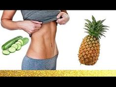 RECETTE MAISON POUR AVOIR UN VENTRE PLAT - Soso Latina - YouTube Jus Detox, Cucumber Juice, Quick Easy Meals, Fitness Tips, Pineapple, Projects To Try, Fruit, Youtube, Recipes