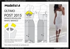 A3 NUMo 0173 DRESS - REVEILLON - BRANCO - ÚLTIMO POST DO ANO