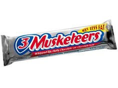 3 Musketeers - light & fluffy! ;)
