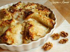 Le crespelle ai carciofi e noci sono un primo piatto da invito. Una ricetta ideale per le prossime festività natalizie. Inoltre sono semplici da realizzare