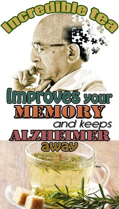 Incredible tea! Improves your memory and keeps Alzheimer away @ Beauticious.net