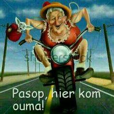 Funny Mad Granny On Bike Stock Illustration 140407549