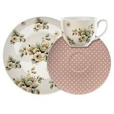Katie Alice Cottage Flowers Afternoon Tea Set £7.88