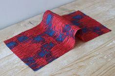 The Fabric Store I Crosshatch Crinkle Silk