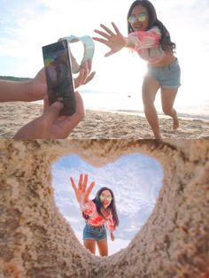 Trucos de fotografías perfectos para recrear con tu pareja  Photography Challenge, Photography Basics, Photography Poses Women, Photography Lessons, Photography Editing, Beach Photography, Amazing Photography, Illusion Photography, Photography Tutorials