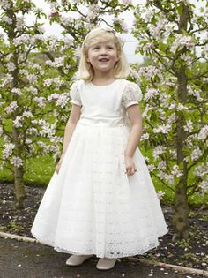 Nicki Macfarlane:  Evie, a beautiful dress with a skirt overlaid with Eyelet lace, a silk bodice and very pretty Eyelet lace sleeves.  Comes with a generous ...