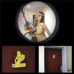 Supermodel at your door!