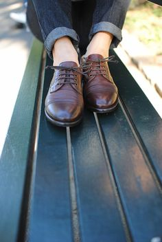 UGG Australia's oxford leather shoe for women - the #Nicco for #Fall #TheNextStep