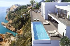 Ibiza style villa in first line for sale in Jávea - ID 5500485 - Real estate is our passion... www.bulk-partner.com